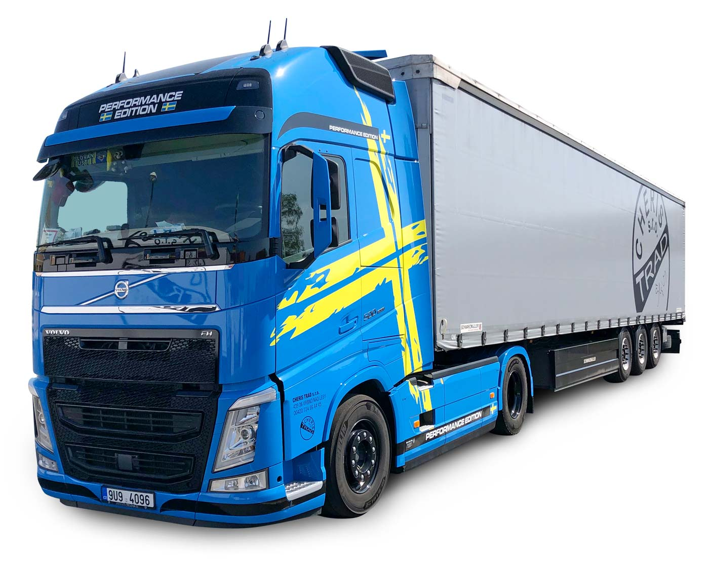 plachtový návěs Volvo