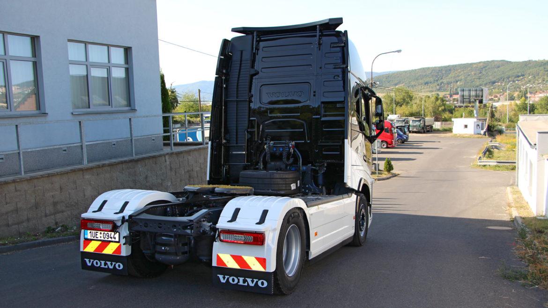 20. tahač značky Volvo