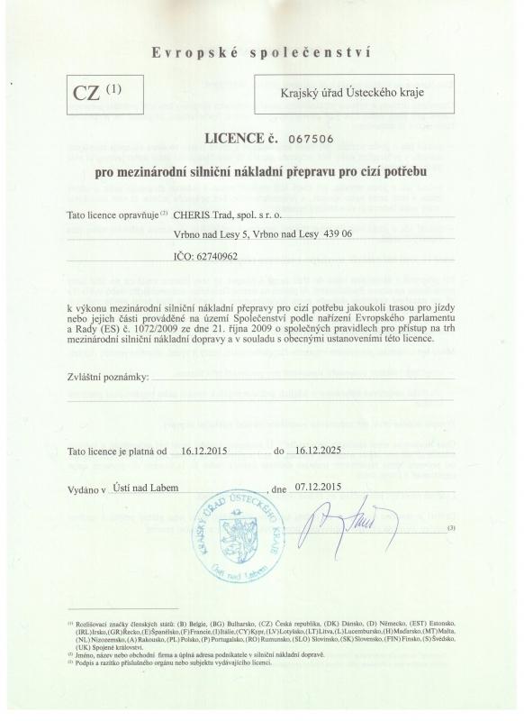Eurolicence 2015-2025